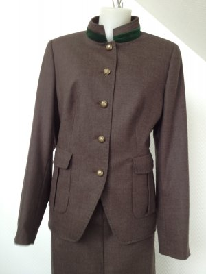 Wool Blazer dark brown