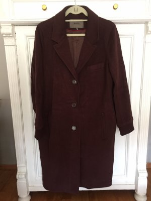 Malvin Oversized Coat bordeaux-brown red