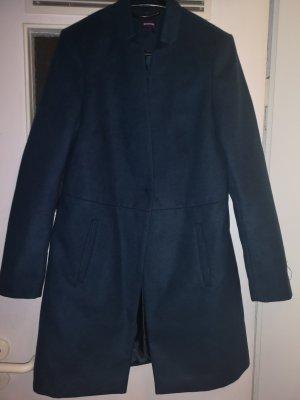 hochwertiger Mantel dunkelgrün/petrol von Promod