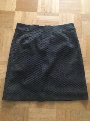 Hochwertiger Minirock von Esprit, grau-schwarz, XS