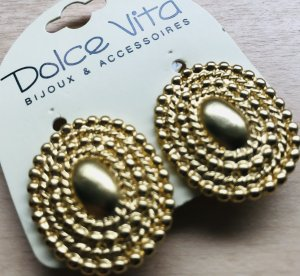 Dolce Vita Earclip gold-colored