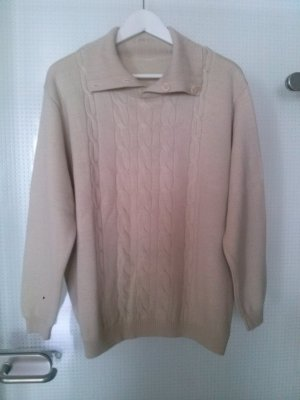 hochwertiger Pullover aus 50% Merinoschurwolle
