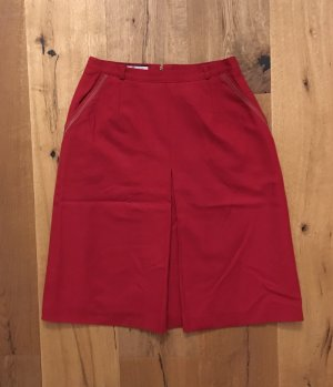 Lucia Wool Skirt red new wool