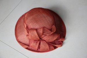 Straw Hat dark orange