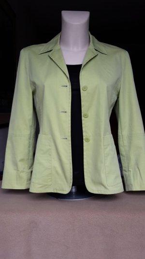 Hochwertiger #Sommer- #Blazer von #She in grün,leicht tailliert, Gr 36