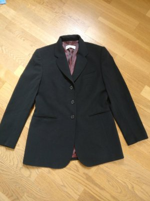 Dinomoda Wool Blazer black-purple