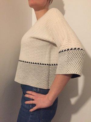 Hochwertiger Wollpullover mit tollem Musterdetail von Autumn Cashmere