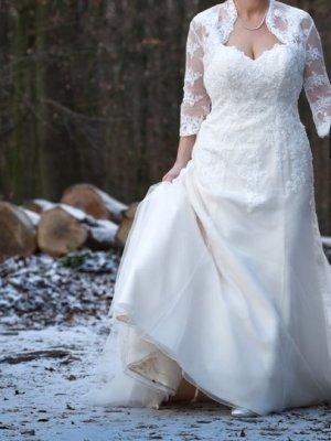 Hochwertiges Brautkleid / Ivory / Gr. 42-46