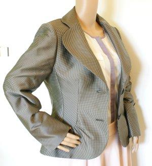 Hochwertiges Designer Damen Sakko Jackett Blazer, grau, Gr. 40, neuwertig