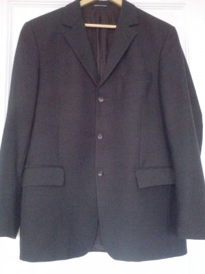 Givenchy Business Suit black brown wool