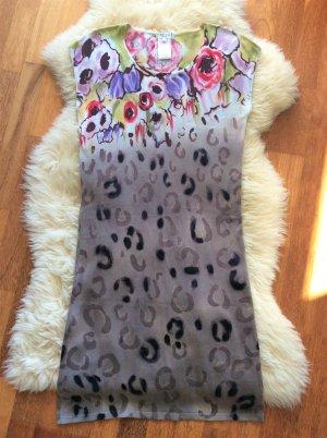 Etincelle Couture Abito di maglia multicolore Tessuto misto