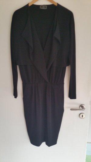 Hochwertiges Jersey Kleid von By Malene Birger in schwarz