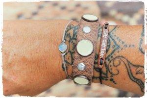 Hochwertiges Leder Armband Code IBZ