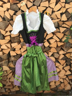 Tchibo / TCM Dirndl multicolored cotton