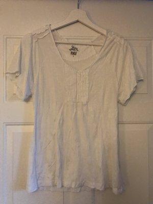 NÜ Denmark T-shirt col en V blanc