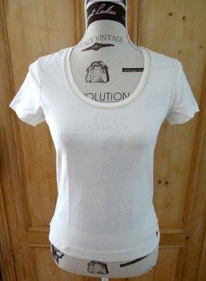 Hochwertiges Shirt mit Samtborte - Esprit Gr. M