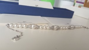 Hochwertiges Swarovski Perlen-Kristall-Armband