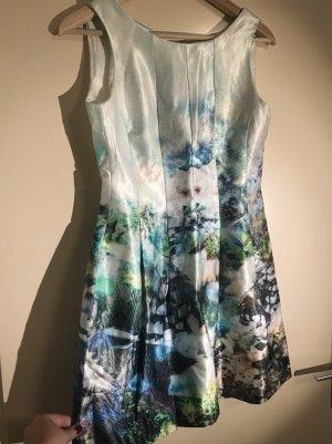 Hochzeit Luxuskleid Kleid Kurz Zara Basic S/M Blumen Premium