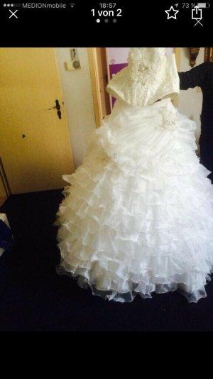 Corsage Dress white