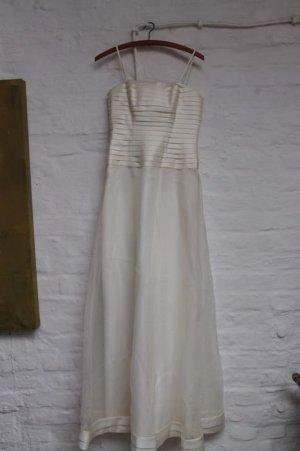 Vestido de baile blanco-blanco puro
