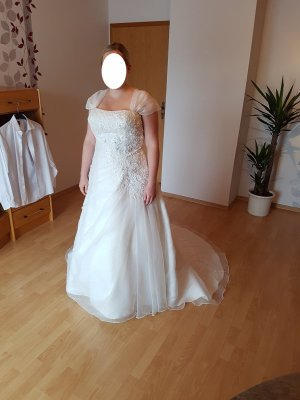 Bruidsjurk wit Polyester