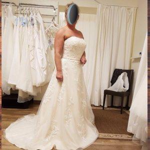 Hochzeitskleid/Brautkleid Gr. 42