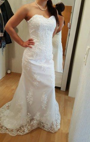Hochzeitskleid Brautkleid neu Spitze Gr.. 36-38