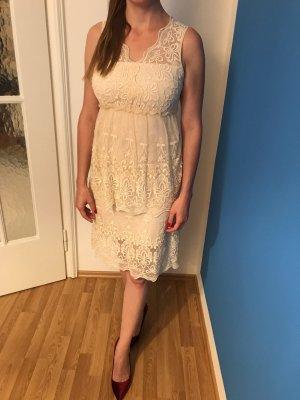 Hochzeitskleid Brautkleid Spitze Blugirl Gr. 38