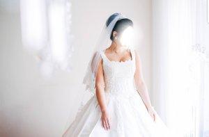 Ekol Abito da sposa bianco