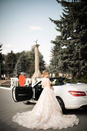 Robe de mariée rosé