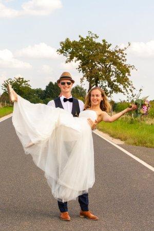 Hochzeitskleid Gr.34 - 38 (mit Schnürung)