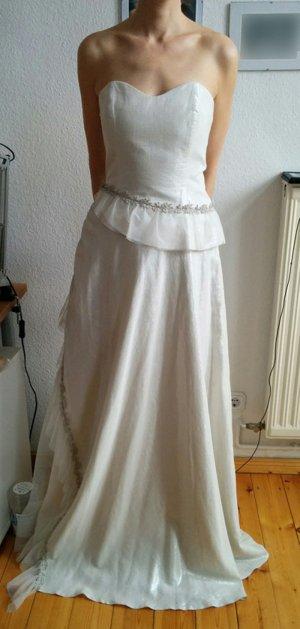 Hochzeitskleid Gr 36/38 in creme, Größe 36/38, NEU, SWING SPOSA