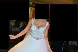 Hochzeitskleid in einem Top Zustand
