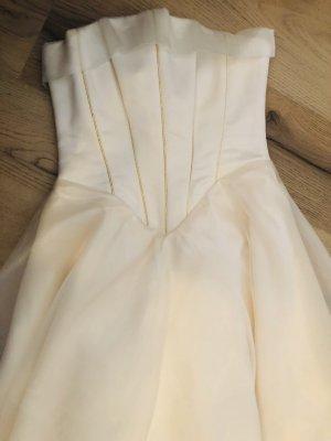 Robe de mariée crème-doré