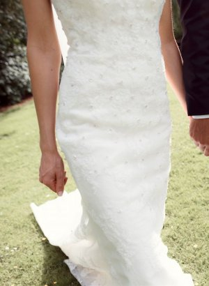 Hochzeitskleid Pronovias getragen