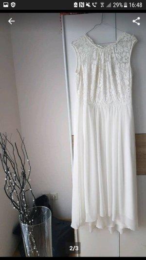 Hochzeitskleid Standesamt Kleid weißes Kleid XL
