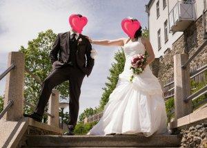 Hochzeitskleid von Tres Chic