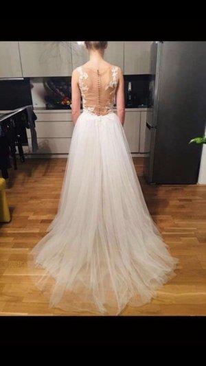 Marchesa Wedding Dress beige