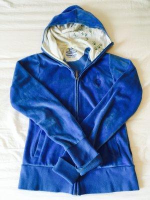 Hooded Sweatshirt neon blue