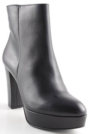 Högl Ankle Boots schwarz minimalistischer Stil
