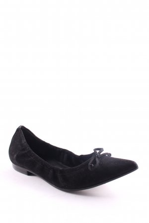 Högl Ballerinas with Toecap black business style