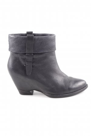 Högl Booties schwarz Business-Look
