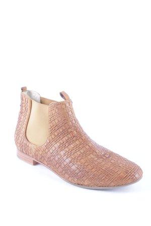 Högl Chelsea Boots hellbraun Casual-Look