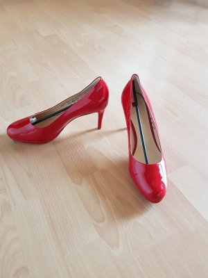 Högl High Heels red leather