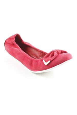 Högl faltbare Ballerinas rot Casual-Look