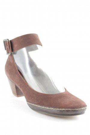 Högl High Heel Sandal brown-light brown casual look