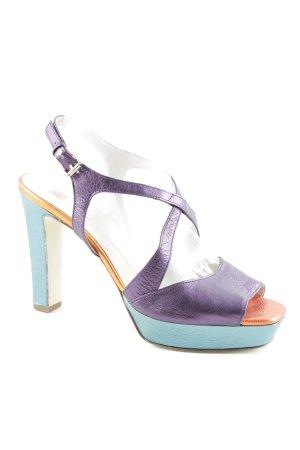 Högl High Heel Sandal color blocking elegant