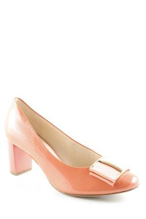 Högl High Heels apricot-goldfarben Elegant