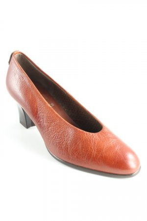 Högl High Heels cognac Business-Look