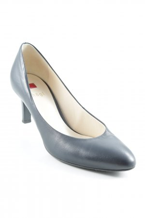 Högl High Heels dunkelblau Business-Look